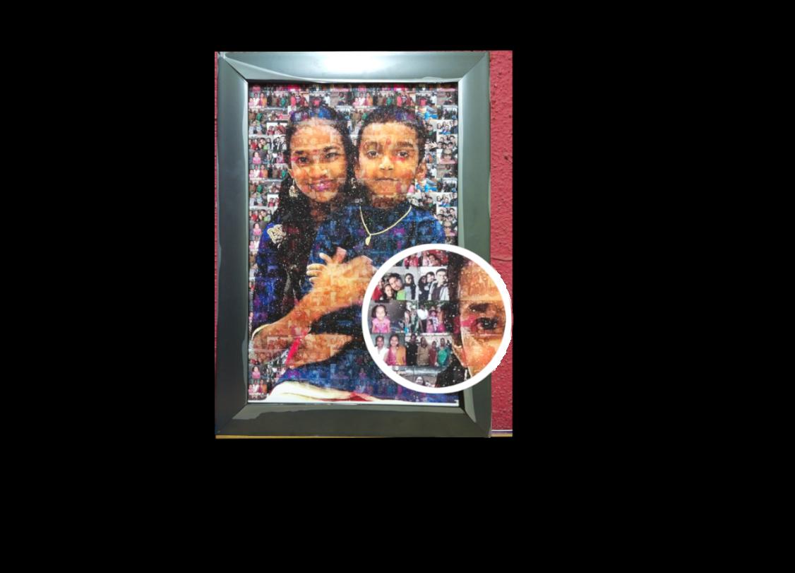 MyBeautifulMemory - Mosaic Painting Gifts Sarthak Pal 1