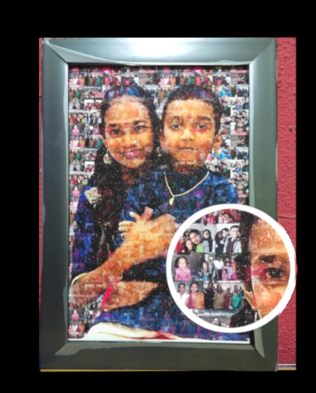 MyBeautifulMemory - Mosaic Painting Gifts Sarthak Pal 2