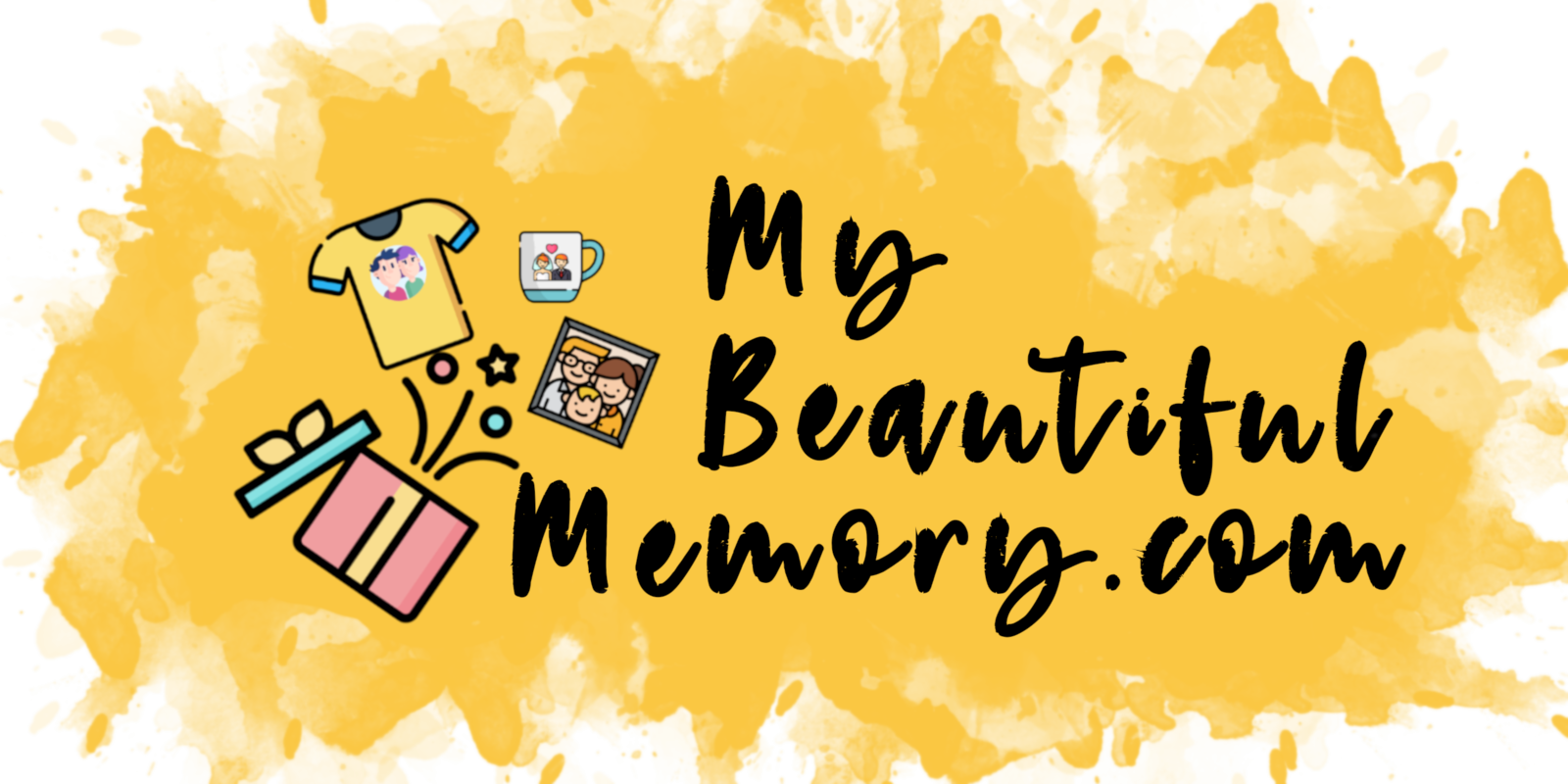 MyBeautifulMemory - Digital Painting New Logo